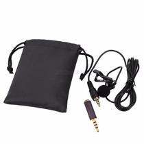 Micrófono Lavalier Solapa De Clip Para Celular Tableta