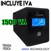 Ups Omega Lcd 110v / 1500 Va