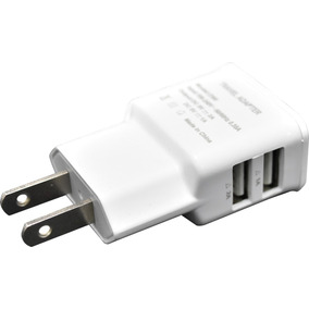 Cargador Portatil Para Iphone 5 Ipod Ipad Doble Usb 2.1 Y 1a
