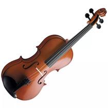 Violino 4/4 Pró Vogga - Acompanha Estojo Arco E Breu - Novo