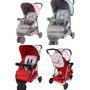Carrinho Triciclo 3 Rodas De Bebê Berço E Passeio Baby Style