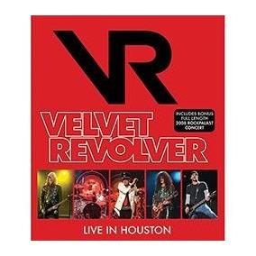 Blu-ray - Velvet Revolver - Live In Houston - Lacrado