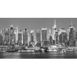 Quadro Nova York Manhattan Cidade Paisagem Eua 55x100