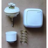 Reparo + Acabamento Branco P Valvula Descarga Lorenzetti L20