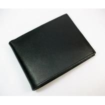 Billetera 100% Cuero Genuino Ejecutiva Regalo Ideal