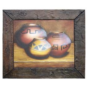 Cuadros Artesanales Rusticos Con Texturas