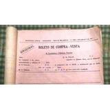 Boleto Compra Y Venta De Maq. Agricola - Año 1932 - Sin Uso