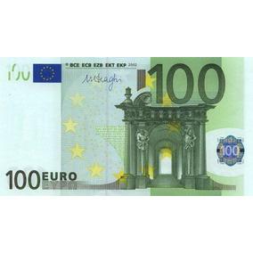 Euro nota metalizada dourada de 100 euro fe c dulas no for Wohnlandschaft 100 euro