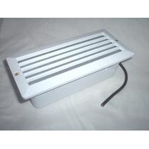 Embutido De Parede Com Grade - Luminária - Kit 9 Peças