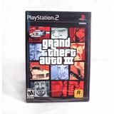 Grand Theft Auto 3 Gta Ps2 Original Nuevo Y Sellado