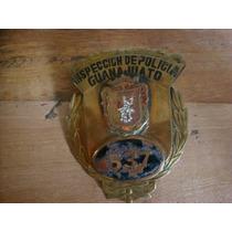 Antigua Placa De Inspeccion De Policia De Guanajuato