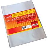 Capa Plástica Diário Clas.incolor 254x322mm Plastpark Pt