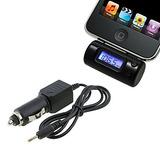 Cargador Y Transmisor De Radio Fm Para Iphone 4s,3g,ipod