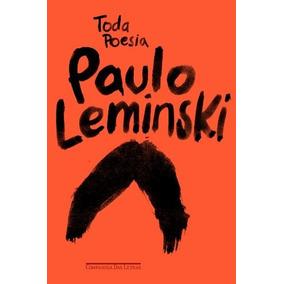 Toda Poesia Livro Paulo Leminski Frete 10 Reais