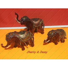 Familia Elefante, 3 Elefantes Elefantes Decorativos