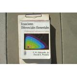 Ecuaciones Diferenciales Elementales Edwards Penney