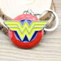 Genial Llavero Liga De La Justicia Mujer Maravilla Dc Comics
