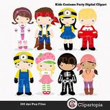 Kit Imprimible Fiesta De Disfraces Imagenes Clipart Cod 2