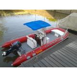 Lancha, Catamaran Semirigido, Yamaha 50hp 4t - Oportunidad