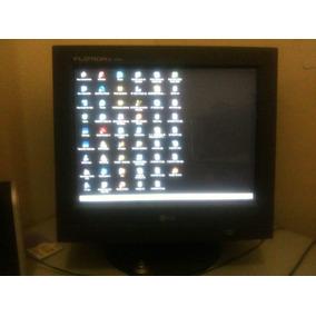 Monitor Crt 15 Lg Flatron Ez T530s