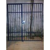 Grade Tubular Chapa 16 Com Portão E Tranca Elétrica