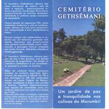 Jazigo No Cemitério Gethsêmani - Morumbi Novo