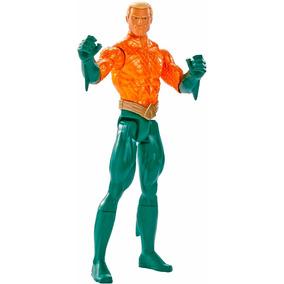 Boneco Figura Liga Da Justiça Aquaman 30 Cm Mattel Oficial