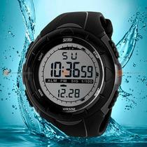 Relógio Skmei Digital Led Mergulho 50m Esporte Natação