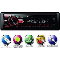 Pioneer Mvh 88ub Usb Radio Media Receiver Som Rca Aux