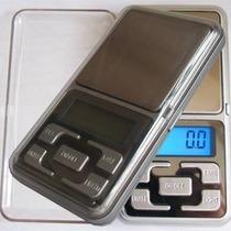 Mini Balança Digital Alta Precisão Escala 0.1 Gr Até 500 Gr