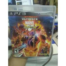 Ultimate Marvel Vs Capcom 3 Ps3 Play Station 3 Economico.