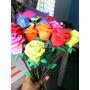 Flores Artificiales Rosas De Foami