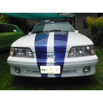 Faro Central Para Ford Mustang Gt, Lx O Cobra 1987-1993