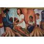 Cuadro De Pintura D. Rivera En Tela Canvas/bastidor 95x62