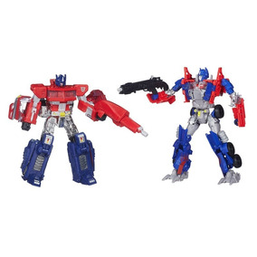 Transformers Then & Now - Optimus Prime - Hasbro A7745