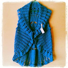 Tejidos Artesanales A Crochet: Chaleco Circular!