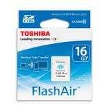 Memoria Sd 16gb Clase 10 Wifi Toshiba Flashair W-03