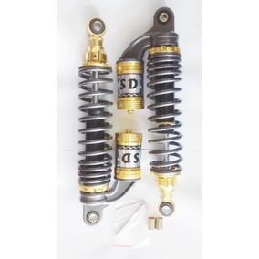 Amortecedor A Gas Dourado Cg Titan 125 E 150 Ybr Sd Gjb