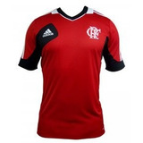 Camiseta De Treino Flamengo Original Vermelha 2013 adidas
