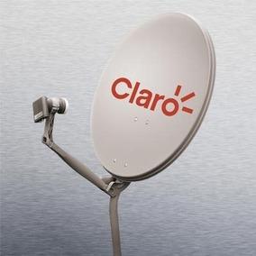Antenas Banda Ku 60cm Cabo Rg6 Kit Fixação E Lnb Simples