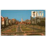 Postal 9 De Julio Buenos Aires Mundial Futbol Argentina 78