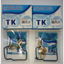 Reparo Carburador Cb 500 1998 A 2003 Tork Tk (02 Kits) Cb500