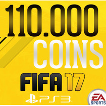 110.000 Coins Fifa 17 Ps3 Ultimate Team - Playstation 3