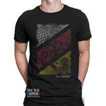 Camisa, Camisetas Game Of Thrones Targaryen Lannister Stark
