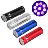 Lanterna Uv 9 Leds Ultra Violeta - Pericia