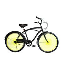 Bicicleta Urbana Yellow Neón Rodada 26