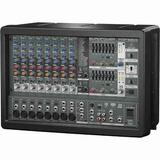 Consola Amplificado 10 Canales Mezclador Behringer Pmp1680s