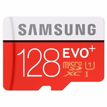 Samsung Evo+ Plus 128gb 80mb/s Memoria Micro Sd Microsd S7
