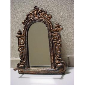 Espelho Parede Princesa Com Porta Toalhas Banho-frete Gratis