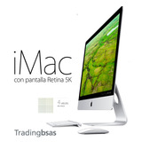 Imac Z0sc004mt 27 Retina 5k Config. Con I7 32gb 1tb Flash